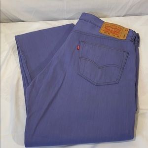 501 Levi Strauss Buttonfly Jeans Purple 36x36 NWOT